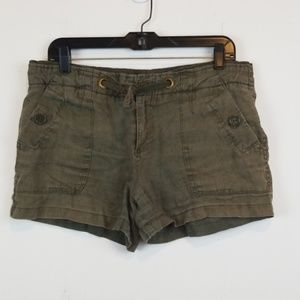 Sanctuary clothing Linen shorts size 29